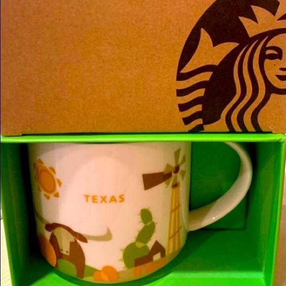 NIB Starbucks Texas You were Here Mug